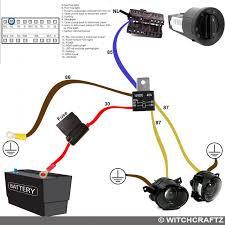 vwvortex com diy fog lights mk harness wiring diagram i included a diagram on the top left made by someone else showing the pins on the headlight switch if you made this and want credit let me know and i ll
