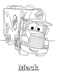 disney cars coloring pages mack. Disneycarscoloringpagesmacklightningmcqueenmacktruck And Disney Cars Coloring Pages Mack