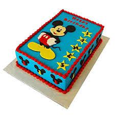 mickey mouse designer fondant cake 2kg