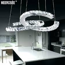 crystal chandelier miami crystal ring chandelier galaxy led light chrome finish