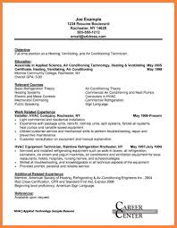 Hvac Resume Samples 60 hvac technician resume samples Statement Synonym 8