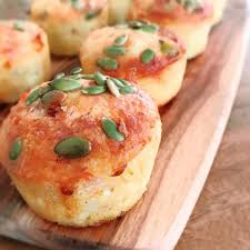 Ham And Cheese Low Carb Bread Rolls Healthy Inspirations