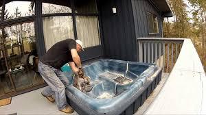 basement hot tub. Basement Hot Tub E