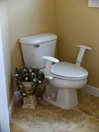 comfort height toilet with comfort arms armrests r66