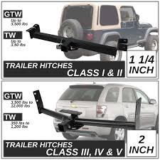 04 Toyota Tacoma Class III Trailer Hitch Receiver Rear Tow Kit