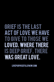Missing Quotes Grief Is Unspent Love