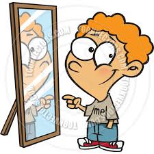child looking in mirror clipart. pin reflection clipart good looking #8 child in mirror l