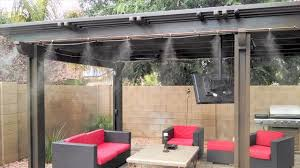 Outdoor Patio Cooling System 25 Nozzles Do It Yourself Misting Backyard Misting Systems