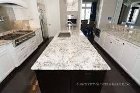 granite countertop alaska white granite countertops lake st louis mo