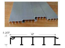 flat inverted t floor aluminum 6061 t6 tl flor 011 a up to 53