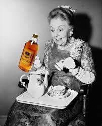 Image result for old lady drinking meme