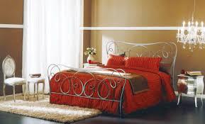 wrought iron bedroom furniture. Beautiful Furniture View In Gallery Dark Gray Bontempi Altea Wrought Iron Bed With Red Bedspread And Bedroom Furniture
