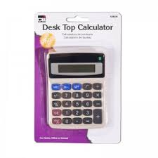 parcc basic four function calculators for grades calculators inc basic desk top calculator set of 12