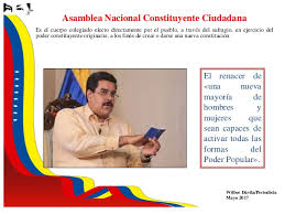Resultado de imagen para asamblea constituyente 2017