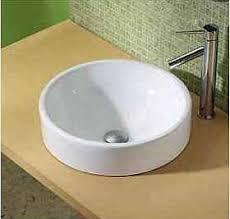 decolav vessel sink. Modren Vessel Decolav 1426CWH Semirecessed Round Vitreous China Sink Vessel  White And C