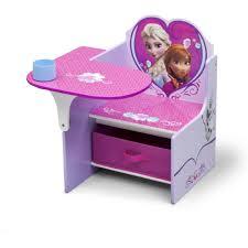 Kids Desk With Storage Delta Children Frozen Chair Desk With Storage Bin Walmartcom