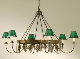 charles saunders oak leaf chandelier designs