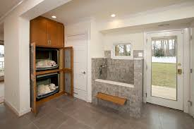 load modern beach. Dc Metro Dog Wash Station With Metal Floor Registers Laundry Room Transitional And Soffit Built In Load Modern Beach
