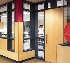 fire rated or fire impact safety rated insulated glass units
