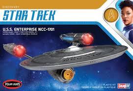 Uss Enterprise Light Up Model The Trek Collective Round 2 Models Discovery Model Kit