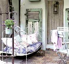 shabby chic outdoor furniture. View In Gallery Metal Keeps Things Cool On Hot Days Shabby Chic Outdoor Furniture