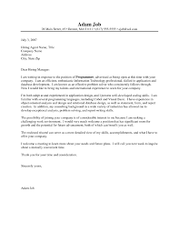 Awesome Collection Of Software Developer Cover Letter