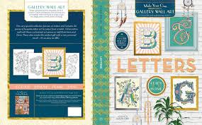 gallery wall art letters lizzy dee
