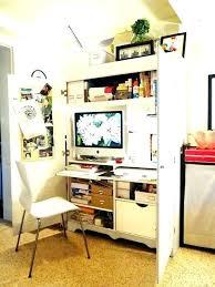 corner armoire computer desk small computer desk