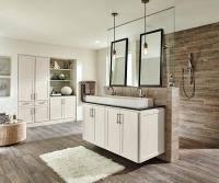 white bathroom cabinets with granite. Off White Bathroom Cabinets In French Vanilla With Granite I