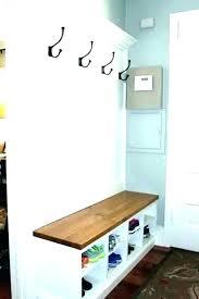 entryway storage bench coat rack plans furniture shoe foyer ch ideas