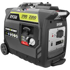 Ryobi 2 200 Watt Gray Gasoline Powered Digital Inverter Generator