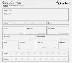 Goal Setting Template 24 Goal Setting Templates And Where To Download Boardview 6
