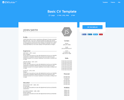 Prepossessing Online Resume Website Template About Resume Template