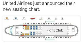United Economy Plus Seating Chart United Airlines Just Announced Their New Seating Chart