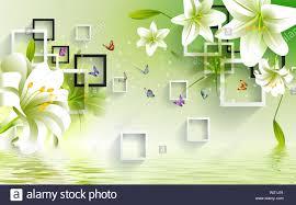 Flower Design Wallpaper 3d 3d Wallpaper For Office House Use For Helping To Feeling