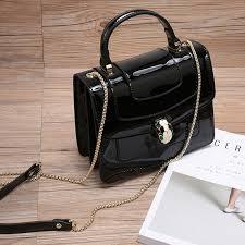 luxury las leather purse bag lh2570 5 colors