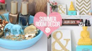 Room Decor Diy Diy Easy Summer Room Decor Laurdiy Youtube