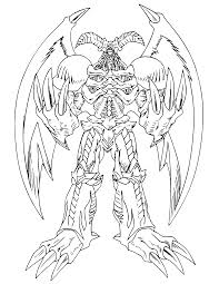 Small Picture Coloring Page Yu gi oh coloring pages 31