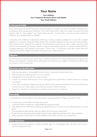 Academic Resume Format Free Sample New Academic Cv Template Word