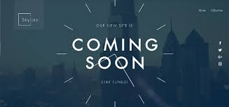 Coming Soon Website Template Awesome 28 Coming Soon Website Templates 28 One Page HTML Under