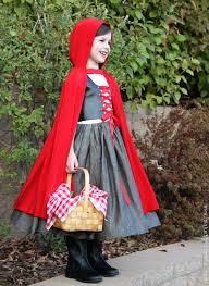there s still time would you like to make a little red riding hood costume