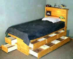 twin platform bed with drawers. Twin Bed With Under Storage Drawers Picturesque King Size Underneath Design . Platform
