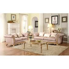 opulent furniture. Homelegance Chambord Sofa Imitation Silk Fabric In Opulent Mix Of Silver And Gold Hues Furniture E