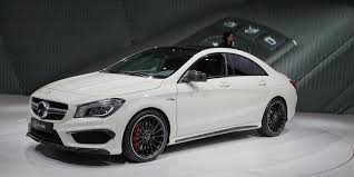 A glance at the technical data for the cla 45 amg shows: 2014 Mercedes Benz Cla45 Amg Photos And Info 8211 News 8211 Car And Driver