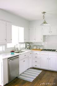 Beautiful white marble counters for the kitchen