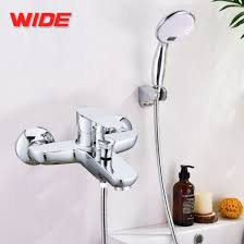 in wall bath shower type combination tap for bathroom