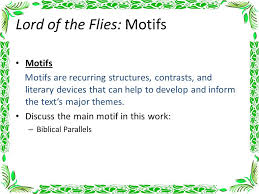 lord of the flies chapter notes ppt video online  29 lord of the flies motifs