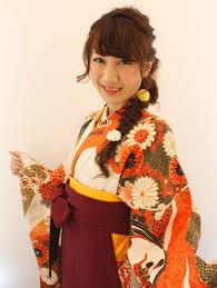 卒業式のヘアセットラプンツェル 着物和装の髪型kimono2019