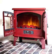 electric fireplace stove heater 3 space saving options red blog black style electric fireplace stove heater