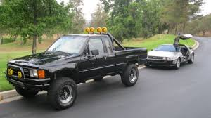 All Waxed Up: 1985 Toyota Hilux 4x4, Back to the Future Replica